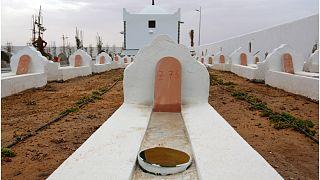 """""""حديقة إفريقيا"""" مقبرة للمهاجرين من ضحايا ركوب البحر في تونس"""