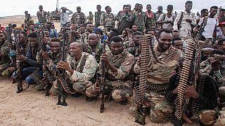 Blast kills at least 61 al-Shabaab fighters in a warehouse