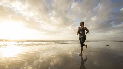 Claire McFarlane is running 16km of beach in every country in the world