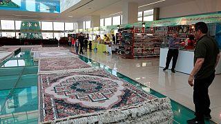 نمایشگاه صنایع دستی ایران در مرکز خرید دهوک، کردستان عراق - ۲۴ دی ۱۳۹۹