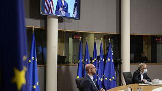EP-vita az uniós-amerikai csúcs előtt