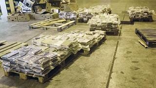 عبوات تحتوي على الكوكايين كانت مخبأة في صناديق  تم حجزها في مالطا فريبورت هو ميناء دولي في جزيرة مالطا، 8 يونيو2021