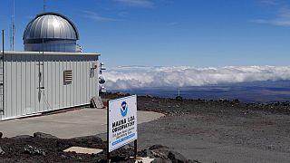 El Observatorio de Mauna Loa (Hawái)