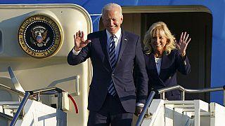 Megérkezett az Egyesült Királyságba Joe Biden amerikai elnök