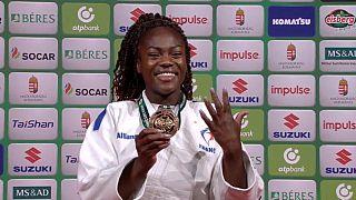 Cinque titoli mondiali in carriera per Clarisse Agbegnenou.