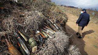 Afghanistan mine clearance