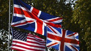 USA and UK Flags