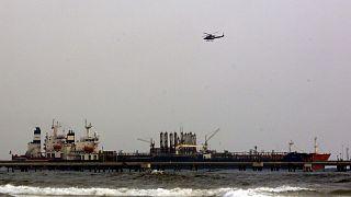 کشتی متعلق به ایران پهلو گرفته در سواحل ونزوئلا