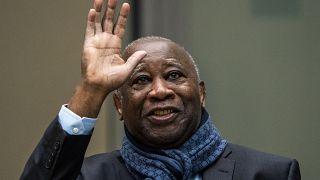 رئيس ساحل العاج السابق لوران غباغبو