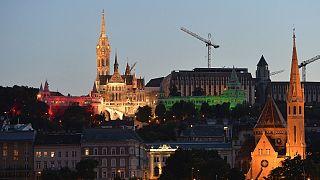 A Halászbástya és a Mátyás-templom a Nemzeti Összetartozás Napján