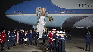 ABD Başkanı Joe Biden ilk yurt dışı gezisi için İngiltere'de