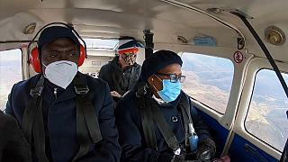 Lesotho ''flying'' doctors give jabs in remote areas