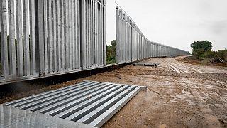 تصاویر دیوار فولادی در مرز یونان و ترکیه برای جلوگیری از ورود مهاجران
