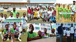 Hajléktalan gyerekeken segít a sport Togóban