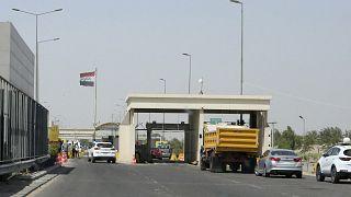 مدخل مطار بغداد الدولي