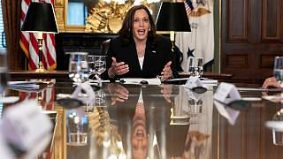 نائبة الرئيس الأمريكي كامالا هاريس