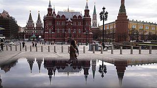 A Manyezsnaja tér Moszkvában