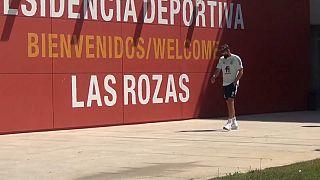 La selección española continúa concentrada en la Ciudad del Fútbol de las Rozas