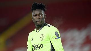 Ajax goalkeeper Onana's ban for doping cut to 9 months
