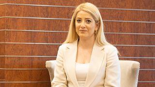 Η νέα Πρόεδρος της Βουλής της Κύπρου, Αννίτα Δημητρίου