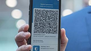 the app for the digital vaccination certificate