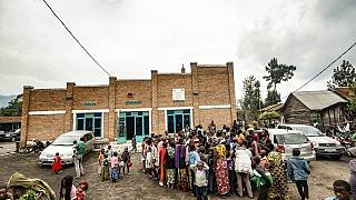 DR Congo: Volcano-displaced people navigate poor quality aid shelters