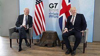 ABD Başkanı Joe Biden ve İngiltere Başbakanı Boris Johnson