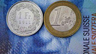İsviçre frangı ile euro