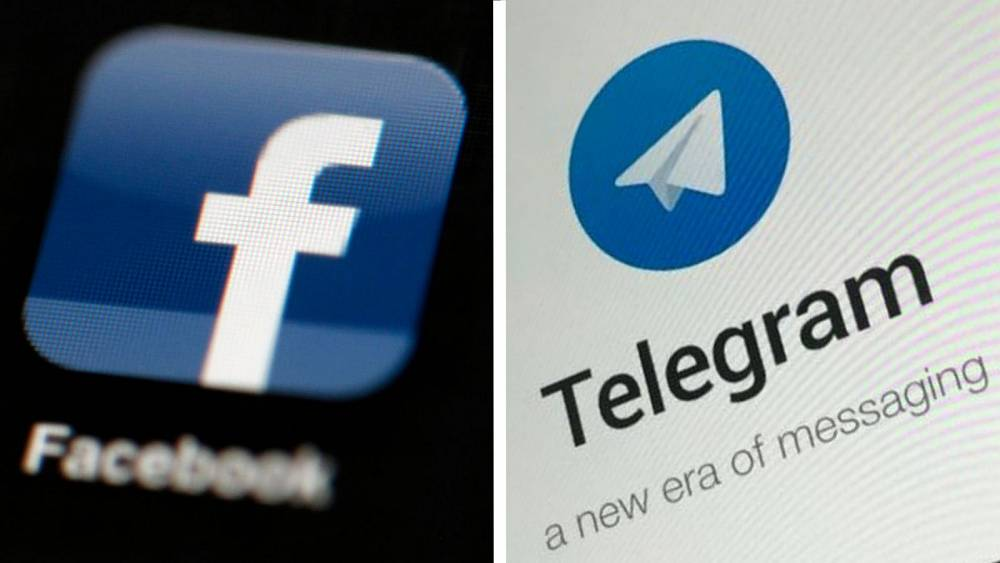 Russia fines Facebook & Telegram for failing to remove banned content