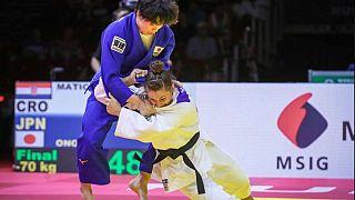 Judo : première médaille d'or en championnat mondial pour Barbara Matić