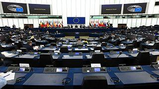 جلسة للبرلمان الأوروبي المنعقد في دورته الصيفية بمقره في مدينة بستراسبورغ الفرنسية