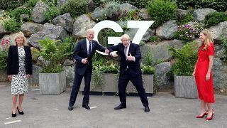 ABD Başkanı Joe Biden ile İngiltere Başbakanı Boris Johnson