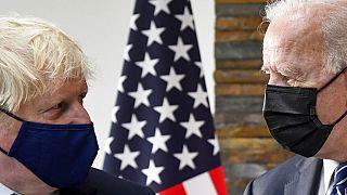 Boris Johnson et Joe Biden à Carbis Bay, 10 juin 2021