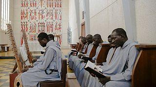 Senegalese monks seek God through kora music