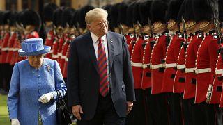 Donald Trump was the last US president the queen met