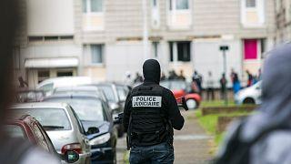 Fransa'nın başkenti Paris'te bir operasyon