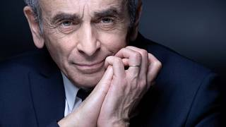France's far-right ideologue Eric Zemmour poses during a photo session in Paris on April 22, 2021.