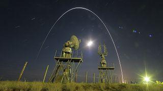 Archív felvétel: spanyol műholdat szállító orosz hordozórakéta fellövése a bajkonuri űrközpontban
