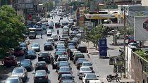 Long queues at Beirut petrol stations amid fuel crisis