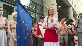 احتجاج نسوي في بولندا