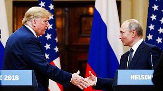 دیدار ولادیمیر پوتین و دونالد ترامپ در سال ۲۰۱۸