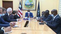 Un pacte militaire envisagé entre le Liberia et la France
