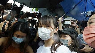 Die Hongkonger Aktivistin Agnes Chow