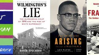 A Pulitzer-díj 2021-ben elismert könyvei az Associated Press montázsán