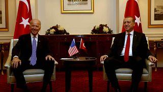 ABD Başkanı Joe Biden ve Türkiye Cumhurbaşkanı Recep Tayyip Erdoğan (arşiv)