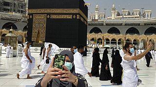 Mekke'de covid-19 önlemleri