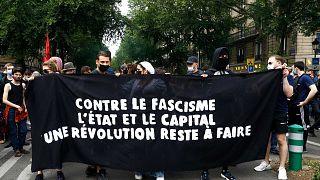 Frankreich: Großdemonstrationen gegen Rechtsextremismus
