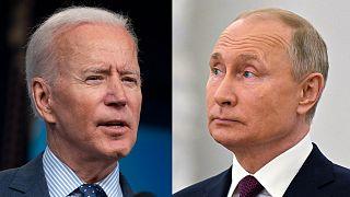 Joe Biden ve Vladimir Putin