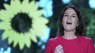 Yeşiller Partisi'nin Eş Genel Başkanı Annalena Baerbock