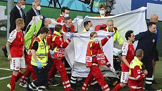 Eriksen, estable tras desmayarse en el partido Finlandia-Dinamarca | Los 'búhos reales' ganan 0-1